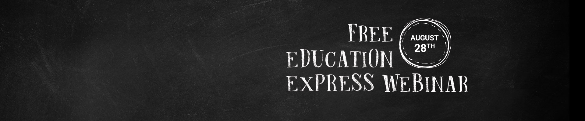 education express webinar banner
